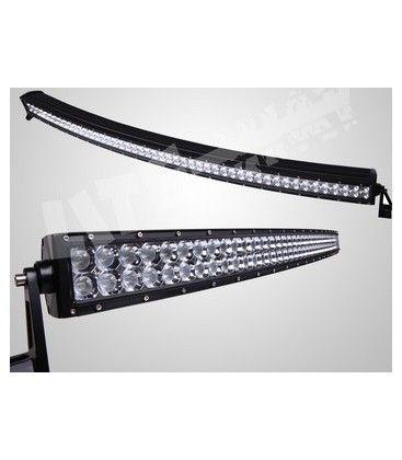 Køretøjs lys bom kurvet, 300w Kold hvid, 12v / 24v, lang/kort lys i et - Bil, Lastbil, Traktor, Udrykningskøretøjer