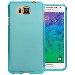 Alpha.cover.frost: Samsung Galaxy Alpha, Frosted Transparent Silicone Case. Flere farver.