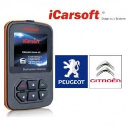 obd.icar.PSA.i970: iCarsoft i970 - Citroen, Peugeot, multi-system scanner