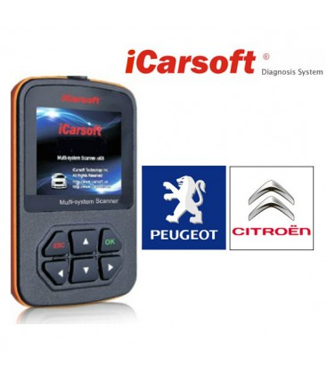 iCarsoft i970 - Citroen, Peugeot, multi-system scanner