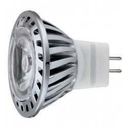 LL.UNO1.MR11.ww: LEDlife UNO1 LED pære - 1W, varm hvid, 35mm, 12V, MR11/GU4