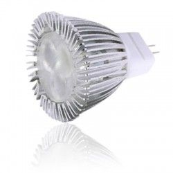 LL.HELO3.MR11.3led.ww.dim: LEDlife HELO3 - 3w, dæmpbar, varm hvid, 35mm, 12V, MR11/GU4