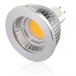 MR16 / GU5.3 fatning LEDlife COB5 LED spotpære - 4.5W, dæmpbar, 12V, MR16 / GU5.3