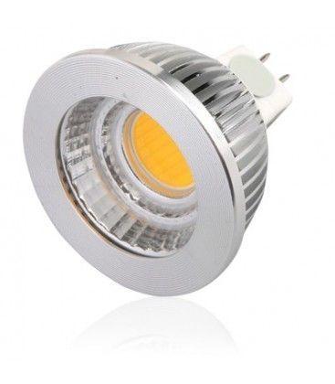 LEDlife COB5 LED spotpære - 4.5W, dæmpbar, 12V, MR16 / GU5.3