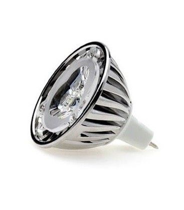 LEDlife UNO LED spotpære - 1W, 12V, dæmpbar, MR16