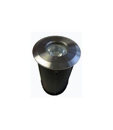 LEDlife Nedgravningsspot - 1W, varm hvid, 12V, 90 Lumen, 100% vandtæt