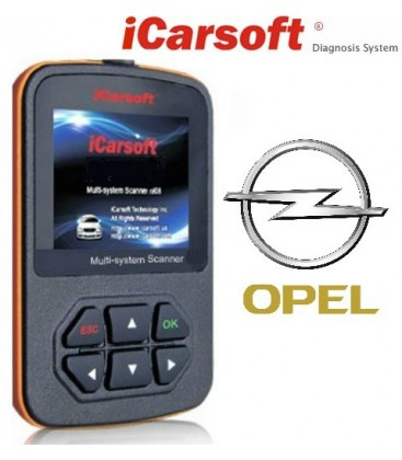 OPEL Multi-system Scanner i902, OBD fejlkodelæser