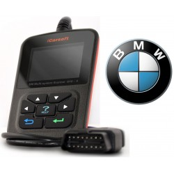 iCarsoft i910-II - BMW, Mini, nulstil service og bremser, multi-system scanner