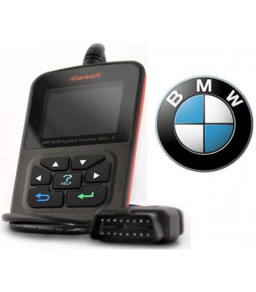 iCarsoft i910-II - BMW, Mini, nulstil service, multi-system scanner