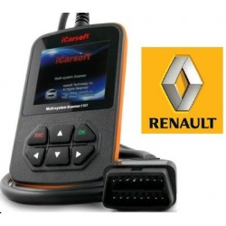 iCarsoft i907 - Renault, Dacia, multi-system scanner