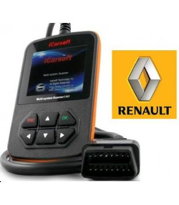 iCarsoft i907 - Renault, Dacia, multi-system scanner
