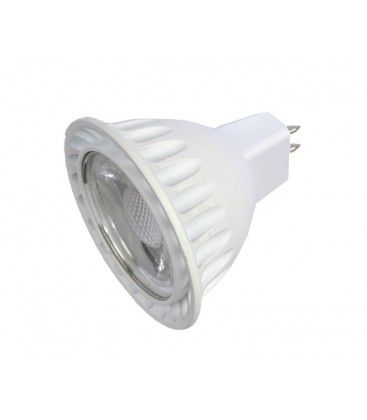 LEDlife LUX2 LED spotpære - 2W, 12V, dæmpbar, MR16