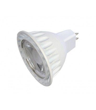 LEDlife LUX2 LED spotpære - 2W, dæmpbar, 12V, MR16 / GU5.3