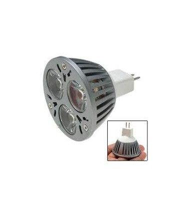LEDlife TRI3 LED spotpære - 3W, 12V, dæmpbar, MR16