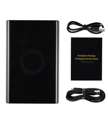 Mobil batteri med trådløs Qi lader til IPhone, Android, Nokia m.f.