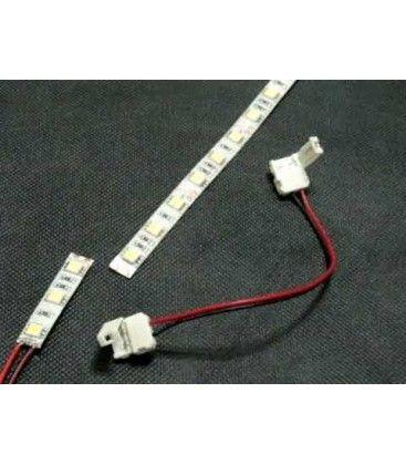 Fleksibel samler til LED strips - Til 5050 strips (10mm bred), 12V / 24V