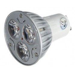 LL.TRI3.GU10: LEDlife TRI3 - LED spot, 3w, 230V, Dæmpbar, GU10