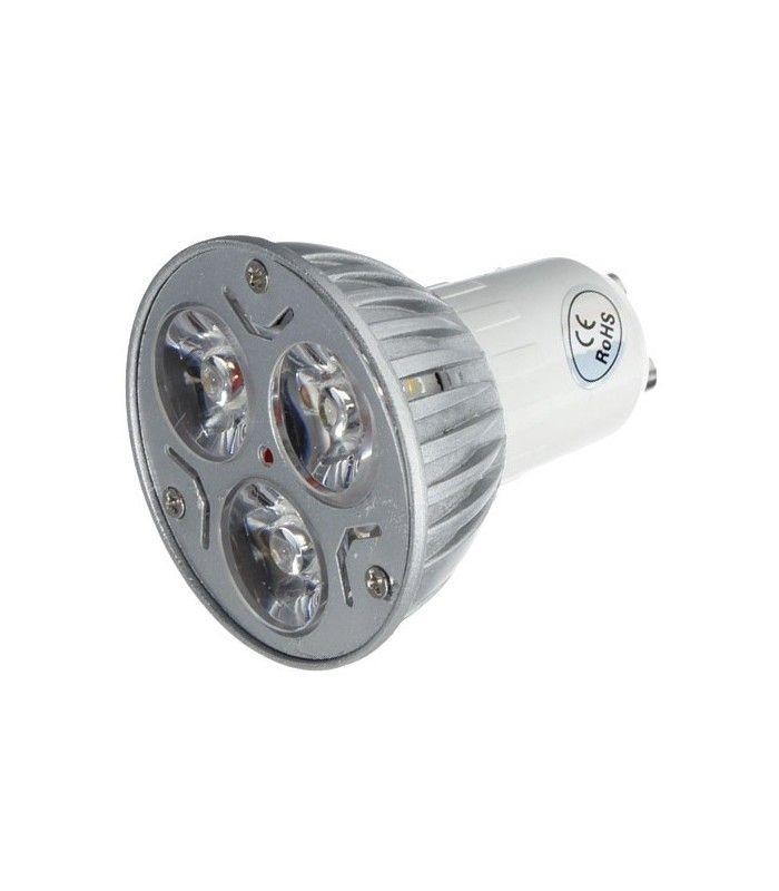 Ultra LEDlife TRI3 LED spot - 3W, 230V, GU10 HP78