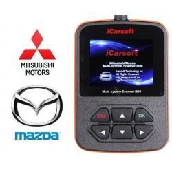 obd.icar.mazda.i909: iCarsoft i909 - Mazda, Mitsubishi, multi-system scanner