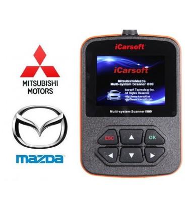 Mazda / Mitsubishi Multi-system Scanner i909, OBD fejlkodelæser