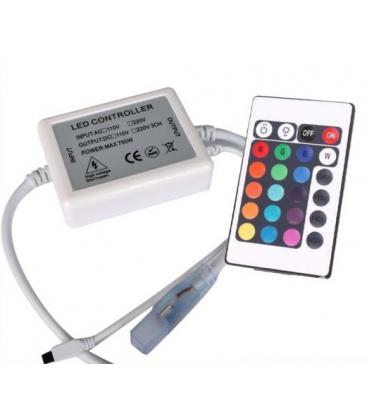 RGB kontroller til 230V strip