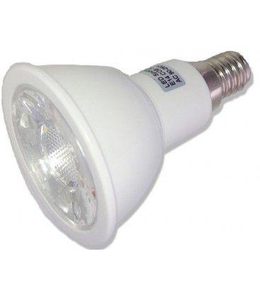 E14 Lille fatning, Varm hvid LED spot, 5W, 60gr, 500 Lumen