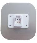 Kompaktrør LED 9w, 2D fatning, GR10q 4pin, Varm hvid