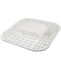 9W LED kompaktrør - 2D fatning, GR10q 4pin