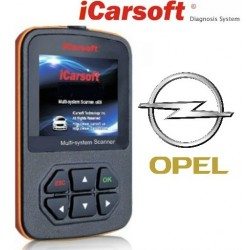 DEMO: iCarsoft i902 - Opel, multi-system scanner