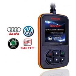iCarsoft i908 - Audi, VW, Seat, Skoda, multi-system scanner