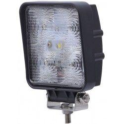 LED Projektør 15W LED arbejdslampe - Bil, lastbil, traktor, trailer, udrykningskøretøjer, kold hvid, 12V / 24V