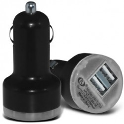 USB cigar lader til bilen, 12-24v, 2 x usb.