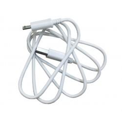 Mobil tilbehør 0,5 meter Micro USB kabel. Rundt kabel. God kvalitet.