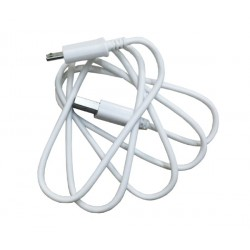 Microusb.cable.round. 50cm: 0,5 meter Micro USB kabel. Rundt kabel. Super kvalitet.