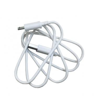 0,5 meter Micro USB kabel. Rundt kabel. God kvalitet.