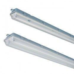 Lysstofrør armatur Vento T8 LED armatur - Til 1x 60cm LED rør, IP65 vandtæt