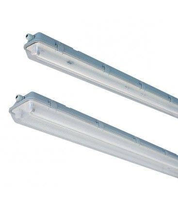 Vento T8 LED armatur - Til 1x 60cm LED rør, IP65 vandtæt