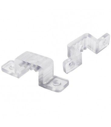 20 stk monteringsklips til hvide 6W 230V LED strips og alle IP68 LED strips