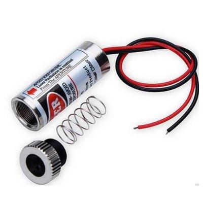 Image of   5mw linje laser rød, laserpointer - Sælges kun erhverv
