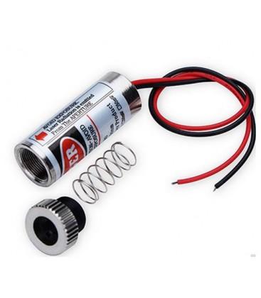 Rød linje laserpointer - 5mW, 3-6 Volt, sælges kun til erhverv
