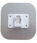 Kompaktrør LED 9w, 2D fatning, GR10q, Neutral hvid
