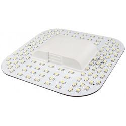 2D.9w.nw: Kompaktrør LED 9w, 2D fatning, GR10q 4pin, Neutral hvid