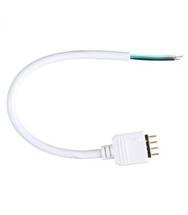 Fleksibel RGB stik til RGB LED strips - 4 pin, 12V / 24V