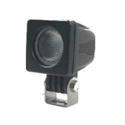 LED Projektør 10W LED arbejdslampe - Bil, lastbil, traktor, trailer, udrykningskøretøjer, kold hvid, 12V / 24V