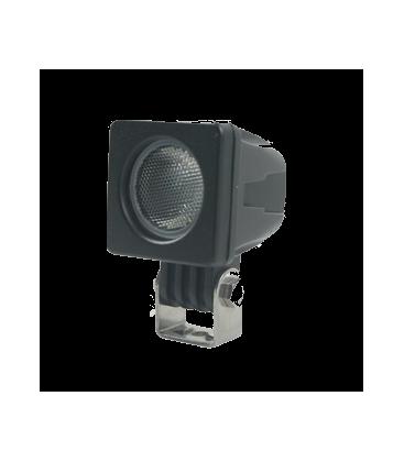 10W LED arbejdslampe - Bil, lastbil, traktor, trailer, udrykningskøretøjer, kold hvid, 12V / 24V
