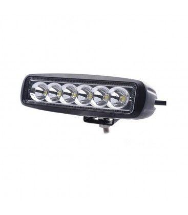 18W LED arbejdslampe - Bil, lastbil, traktor, trailer, udrykningskøretøjer, kold hvid, 12V / 24V