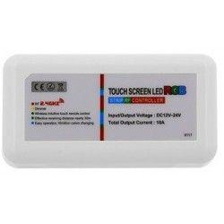 12V RGB RGB kontroller uden fjernbetjening - 12V (216W), 24V (432W), RF trådløs