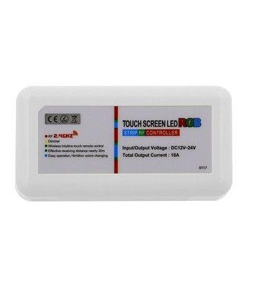 RGB kontroller uden fjernbetjening - 12V (216W), 24V (432W), RF trådløs
