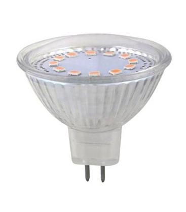 LED Spotlight - 3W MR16 12V glashus 4500K