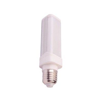 Image of   V-Tac 6W LED PL pære - Roterbar, E27 - Kulør : Kold, Dæmpbar : Ikke dæmpbar